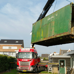 Oude container